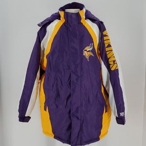 NFL Minnesota Vikings Fall/ Winter Coat Sz XL